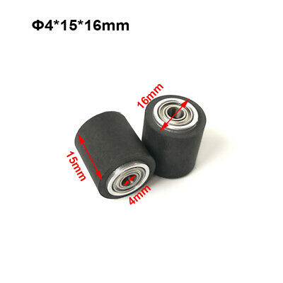 3pc Pinch Roller Vinyl Cutting Graphic Plotter 4x15x16mm Printer Pressure Wheels