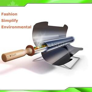 Solar Cooker Oven Portable Fuel Free BBQ Cooking Camping Outdoor Heat 251358