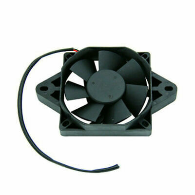 12V RADIATOR COOLING FAN FOR 200CC 250CC WATER COOLED DIRT BIKE GO KAR
