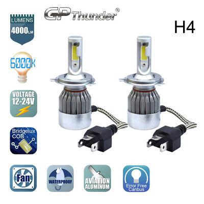 COB H4 HB2 9003 GP Thunder CREE LED Headlight Kit Hi/Lo Power Bulbs 6000K