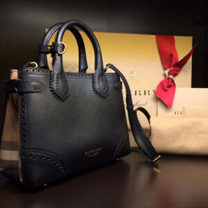 DESIGNER HANDBAGS - BURBERRY, COACH