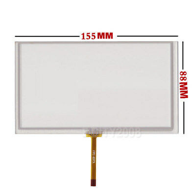 6.2 Inch Resistive Touch Panel 155x88mm For Tm062rdh03 6.2 Lcd Screen Us Seller