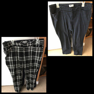 2 pairs of size 12 OLD NAVY pant