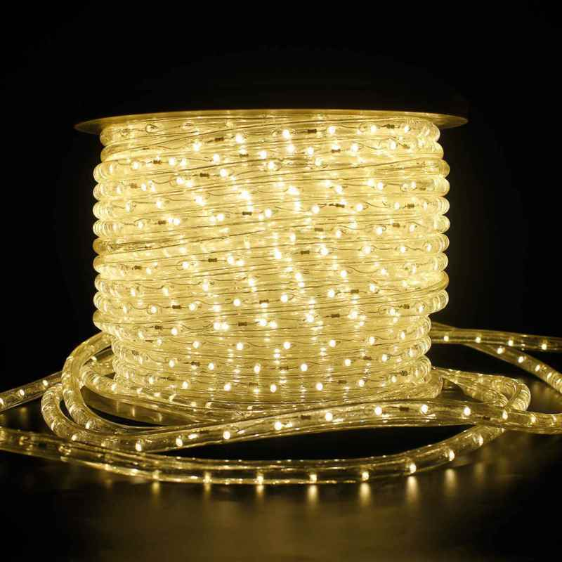 6-100m LED Lichtschlauch schlauch Lichterkette Außen/Innen geeignet Warmweiß
