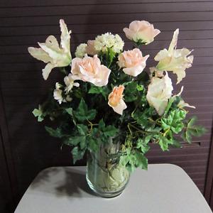 Silk flower arrangement buy sell items tickets or tech in assorted silk flower arrangements with vase mightylinksfo