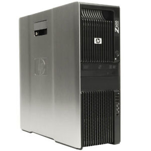 COMPAQ/HP Z600- 2 Intel Xeon E5620 Quad CPU 12GB RAM 500GB W 10