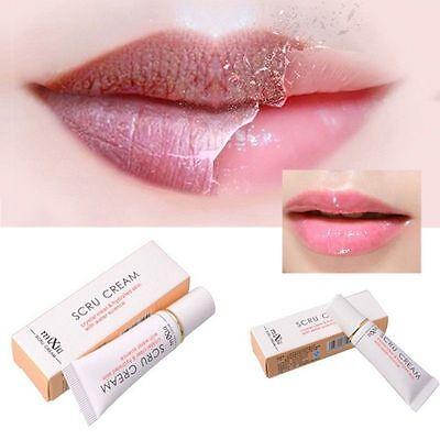 Transparent Exfoliating Lip Scrub Face Care Labial Enhancer Anti Aging Wrinkle Z