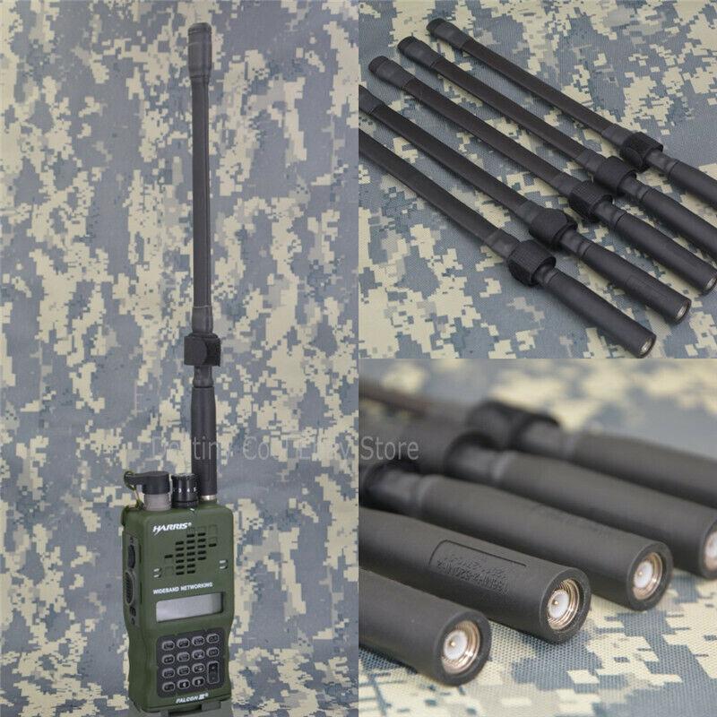Short Foldable Blade Antenna For TRIPRC152 PRC148 Tactical THALES HARRIS Radio