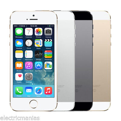 Apple iphone 5s -32GB Space Gray GSM Unlocked- 4G SIMFREE Smartphone + WARRANTY