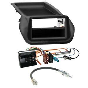 Peugeot-Bipper-0808-1-DIN-Auto-Radio-Einbauset-Cavo-Adattatore-Autoradio
