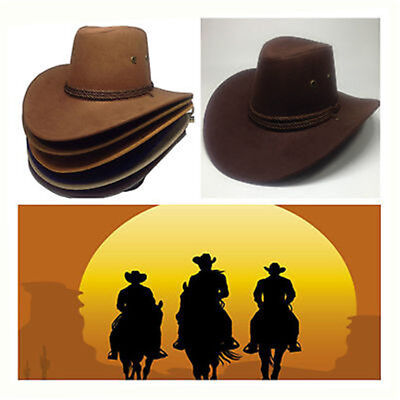 Classic Cowboy Hat Western Cowgirl Hats Funny Party Hats Big The Beach Sun Hat
