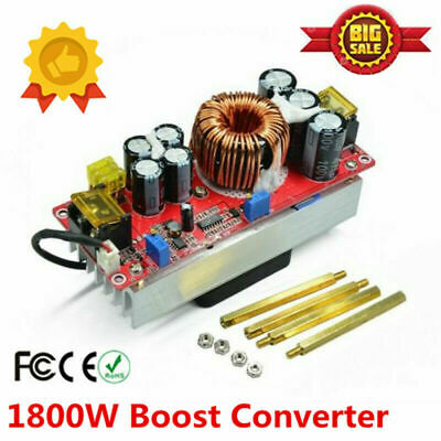 1800w 40a Dc-dc Boost Converter Step Up Power Regulator Module Constant Us Ship