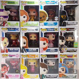 Funko Pops! Exclusives Chases Vaulted & More Pop Vinyl Figures!