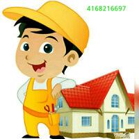Handyman services and Renovation