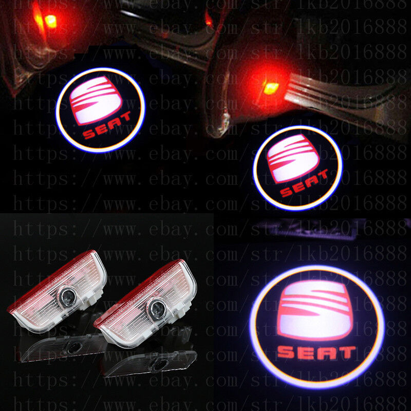 5w Cree LED Door Logo Projector Puddle Courtesy Light Kit For LANDROVER