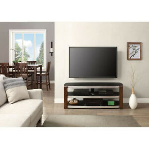 c4b798f93f5 NEW Whalen Contemporary Bench TV Stand for TVs up to 60 - Black