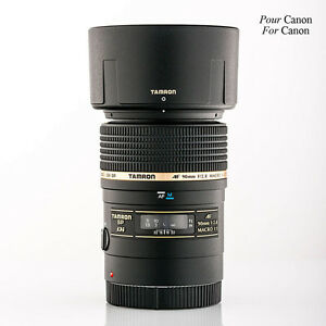 Tamron SP AF90mm F/2.8 DI MACRO pour CANON