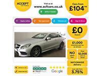 Mercedes-Benz E220 AMG Sport FROM £104 PER WEEK!