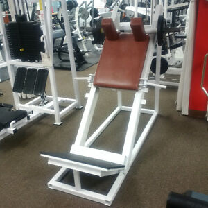GET UR HOME GYM FINISHED--great commercial squat machine