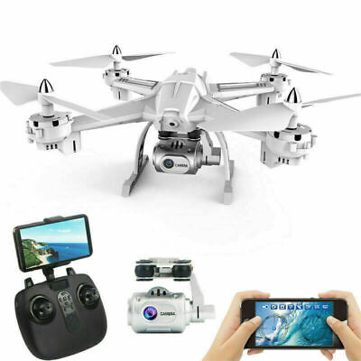 Foldable Drone with Camera WiFi FPV Quadcopter with Wide-Angle 1080P HD Camera
