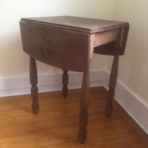 Vintage Solid Wood Table (Folding / Extendable)