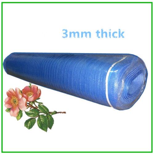 400 sqft 3mm Thick Underlayment for Laminate Padding Vinyl Flooring Blue Foam