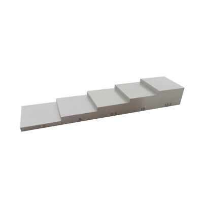 Yushi 5 Step Ultrasonic Calibration Block Stainless Steel 2.5-5-7.5-10-12.5mm