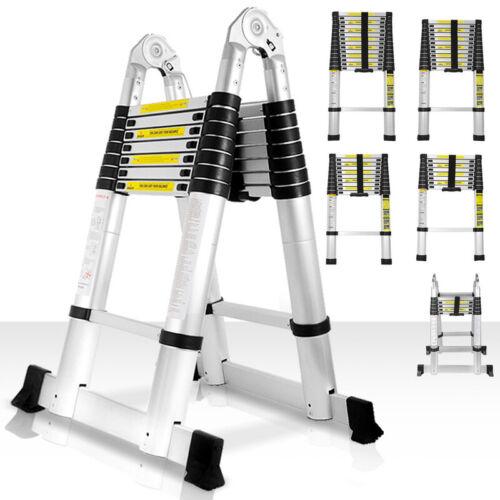 Alu Teleskopleiter Stehleiter Anlegeleiter Klappleiter Multifunktionsleiter