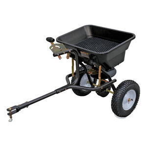 For Sale - 80-lb Capacity Tow-Behind Lawn Spreader