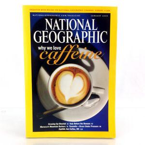 January 2005 National Geographic Magazine Single Issue Caffeine