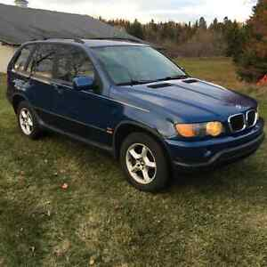 2001 BMW X5 Tan Leather SUV, Crossover