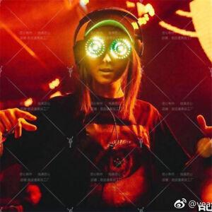 Original for REZZ DJ LED Light Glasses Party Nightclub Music Bar +Remote Control