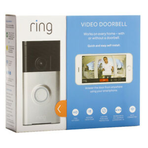 Ring Wifi HD Satin Video Doorbell--Brand New in Box!!-LAST ONE!