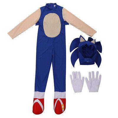 Boys Kostüm Cos Film Sonic Hedgehog Overall Cosplay - Boys Kinder Kostüme
