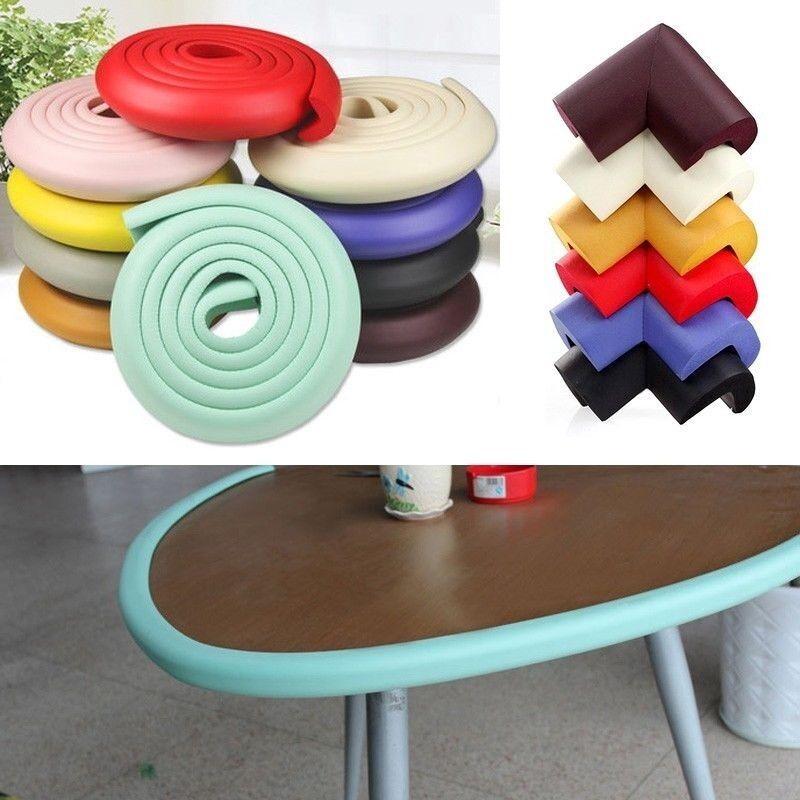 Baby Edge Corner Cushion Safety Table Desk Guard Strip Softener Bumper Protector