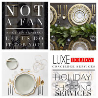LUXURY HOLIDAY DECORATION/ STYLING SERVICES