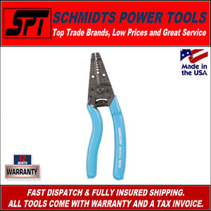 CHANNELLOCK-957-7-175mm-ERGONOMIC-WIRE-STRIPPERS-CUTTERS-NEW-CHA957