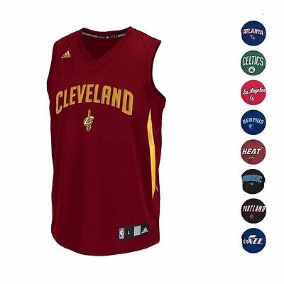 Image of NBA Select Tank Team Color & Logo Sleeveless Jersey Collection by ADIDAS Men's