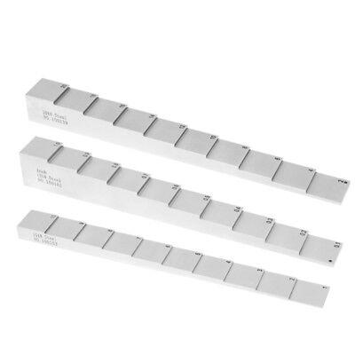 Yushi 10 Step Ultrasonic Calibration Block 1.1-2.0 1018 Steel Step Wedge