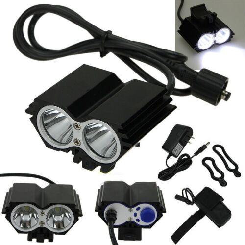 Купить 5000 Lumens 2x CREE XM-L U2 LED Cycling Bike Bicycle Light Headlamp HeadLight BP