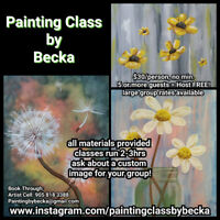 Painting Class by Becka