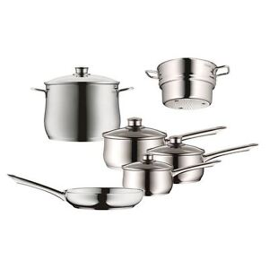 WMF - Diadem Plus 6pc 18/10 Stainless Steel Cookware Set