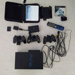 Play Station 2 (PS2) Console and Accessories