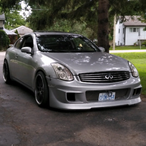 2004 Infiniti G35 coupe 6mt Track Package