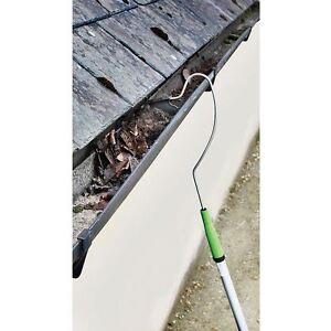 Telescopic Roof Gutter Cleaner (Extends 1.5m to 2.4m) Remove Leaves and Moss