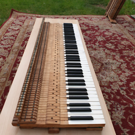 Piano frames and parts