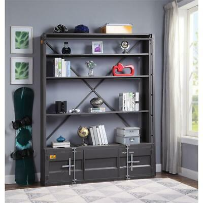 ACME Cargo Bookshelf & Ladder  in Gunmetal