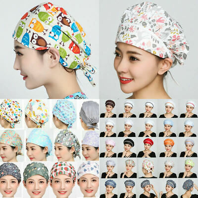 Men Women Doctor Nurses Cap Printing Scrub Medical Surgical Surgery Kitchen Hat ](Nurses Hat)