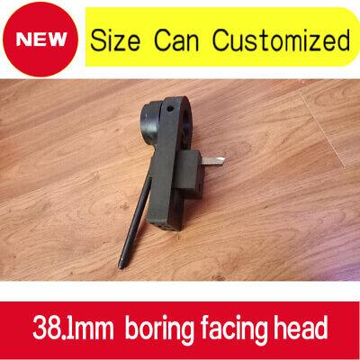 38.1mm1.5inch Boring Facing Head For Servo Motor Portable Line Boring Machine
