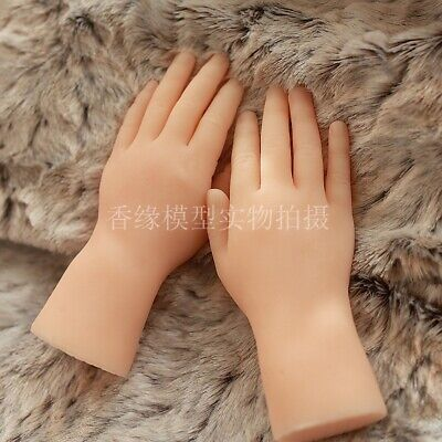Baby One Pair Realistic Silicone Female Mannequin Dummy Hands